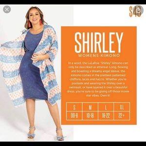LuLaRoe Other - Lularoe NWT Small Shirley Kimono.💙